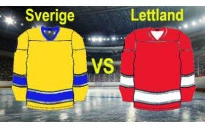 Sverige–Lettland