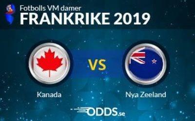 Kanada vs Nya Zeeland