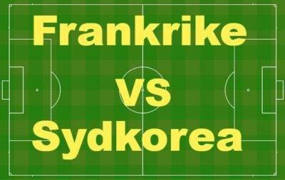Frankrike–Sydkorea