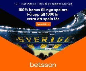 banner sweden betsson 300x250