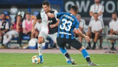 Juventus v FC Internazionale serie a