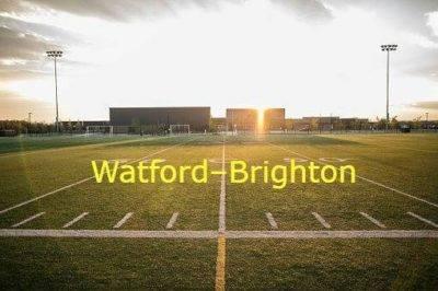 Watford–Brighton