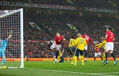 Arsenal Manchester United match