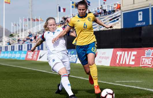 Sverige damernas fotboll