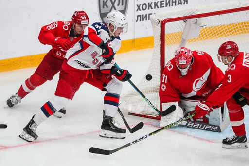 Kontinental Hockey League: Spartak Moscow vs CSKA Moscow