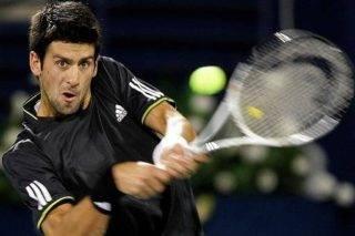 Serbian world number three Novak Djokovi