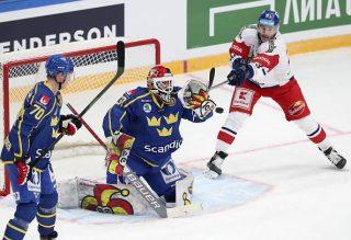 Channel One Cup: Czech Republic 4 - 1 Sweden
