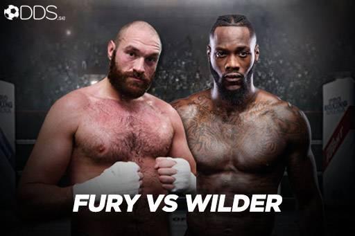 fury vs wilder odds