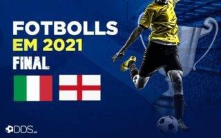 Fotbolls-EM-Final italien england